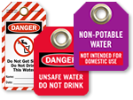 Water Valve Tags
