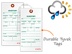 Weather Proof Inventory Tags