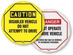 Steering Wheel Lockout Covers   Steering Wheel Lockouts