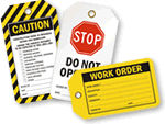 Work Order Tags