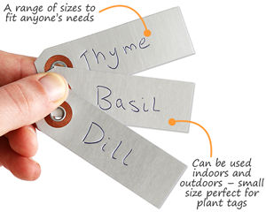 Debossable Aluminum Tags