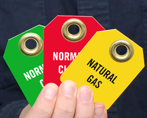 At-a-Glance Valve Tags