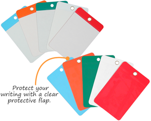 Self-Laminating Blank Tags