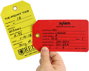 Durable Custom Plastic Tags