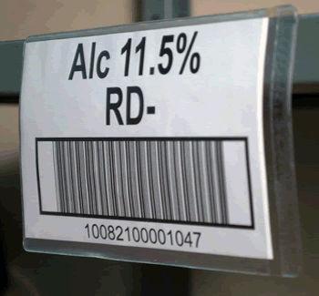 Super-Scan® Label Holder