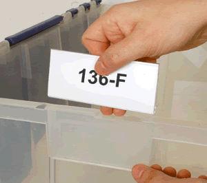Tri·Dex™ Label Holders (for bins)