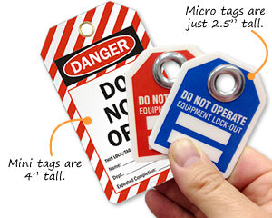 Mini Safety Tags