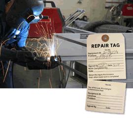 Multi-Part Repair Tags