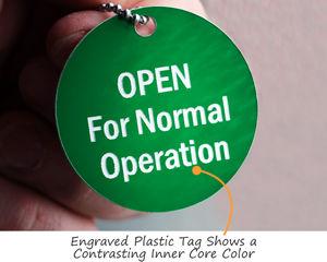 Plastic tag
