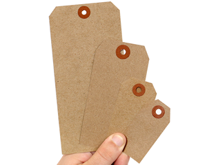 Recycled Kraft Paper Tags