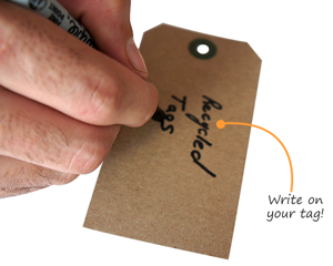 Recycled Paper Tags
