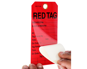 Custom Red Tags