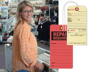 Retail Repair Tags