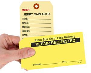 Repair Tags