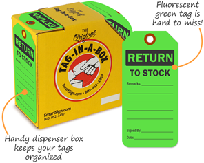 Returned Goods Tags