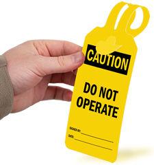 Self-Locking Safety Tags