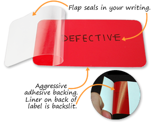 Self-Laminating Labels