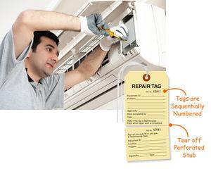 Serialized Repair Tags