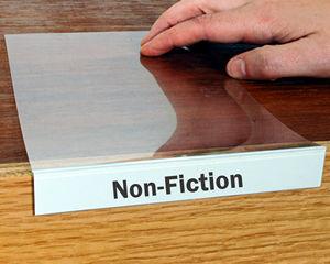 Moveable Shelf Label Holders