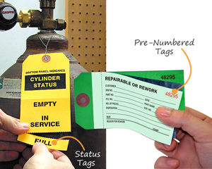 Status Tags and Pre-Numbered Tags