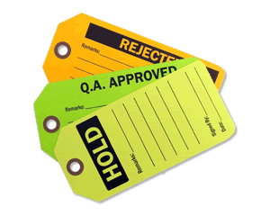 Fluorescent Inspection Tags & Labels