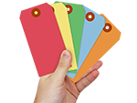 Looking for Colored Tags?