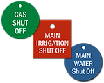 Shut-Off Tags