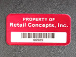 Stop Theft Tags