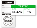 Tested Labels