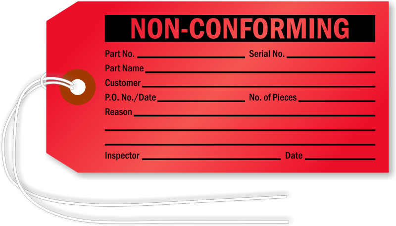 Non Conforming Tags