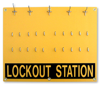 Lockout Station Only - 20 position