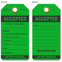 Accepted Do Not Remove QA Approved Tag