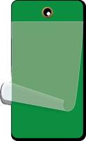 Dark Green Self-Laminating Blank Inspection Tag