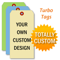 Heavy Weight Cardstock Turbo Tags