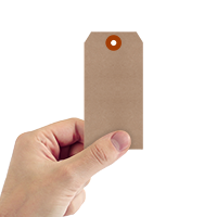 Recycled Kraft 11-point Cardstock Tags