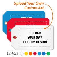 Personalized Add Own Design Generic Tag