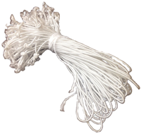 "Bundle of 100 Loose Elastic String, 9"" length"