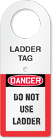 Ladder Status Tag Holder