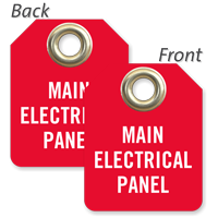 Main Electrical Panel Mini Tag