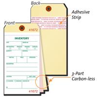 Heavy Manila Cardstock Inventory Tag Copies