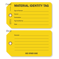 Material Identity Tag