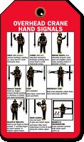 Overhead Crane Hand Signals Tag