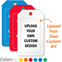 Custom Add Own Design Generic Plastic Tag