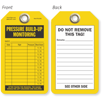 Pressure Build-Up Monitoring Tag