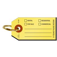 Real Estate Key Tag