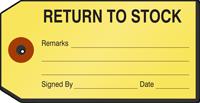 Return to Stock Repair Tag