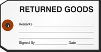 Returned Goods Repair Tag