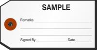 Sample Repair Tag