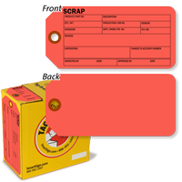 Scrap Tag-in-a-Box with Fiber Patch
