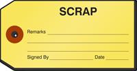 Scrap Repair Tag